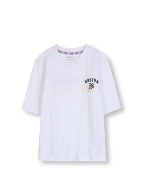 키즈 7부 소매 그래픽 티셔츠 _ (WT)
