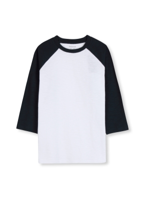 슬럽 7부 라글란 티셔츠