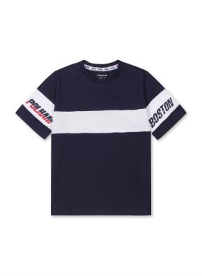 컬러 블록 티셔츠