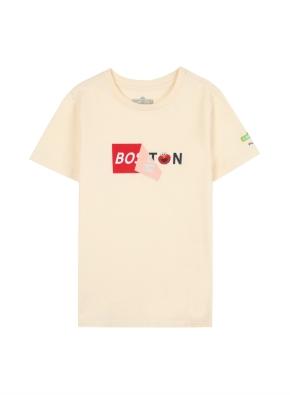 키즈 세서미 콜라보 티셔츠2 _ (CR)