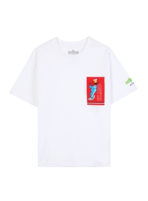 키즈 세서미 콜라보 그래픽 티셔츠4 _ (WA)