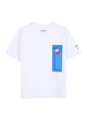 키즈 세서미 콜라보 그래픽 티셔츠4 _ (WT)