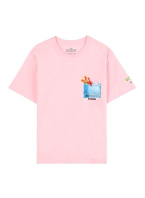 키즈 세서미 콜라보 그래픽 티셔츠5 _ (LPK)