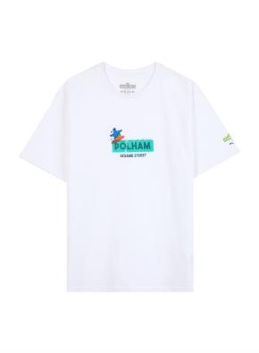 키즈 세서미 콜라보 그래픽 티셔츠5 _ (WA)