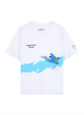 키즈 세서미 콜라보 그래픽 티셔츠5 _ (WT)