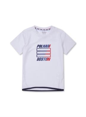 키즈 폴리 시그니쳐 티셔츠 _ (WT)