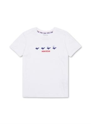 키즈 핫썸머 슬럽 티셔츠 _ (WT)