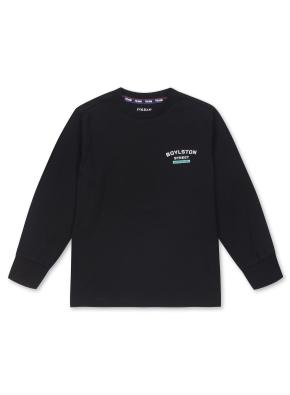 키즈 시그네쳐 로고 티셔츠 _ (BK)