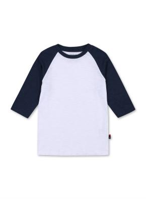 키즈 7부 라글란 티셔츠 _ (DBL)