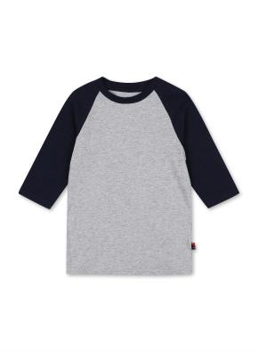 키즈 7부 라글란 티셔츠 _ (DNV)
