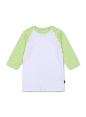 키즈 7부 라글란 티셔츠 _ (LM)