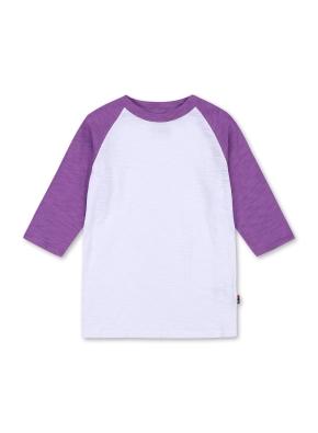 키즈 7부 라글란 티셔츠 _ (PP)
