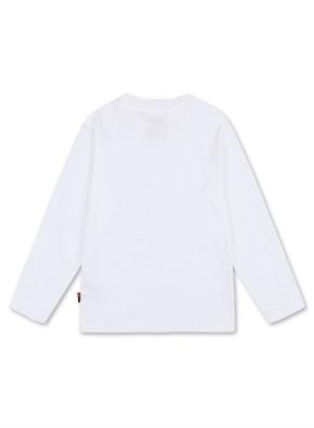 키즈 슬럽 세미 오버핏 티셔츠 _ (WT)