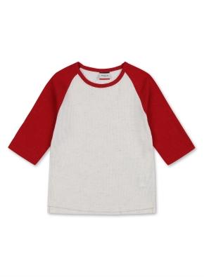 여아 라글란 티셔츠 _ (RD)