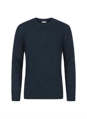 캐시미어 100% 라운드 스웨터 (DGN)