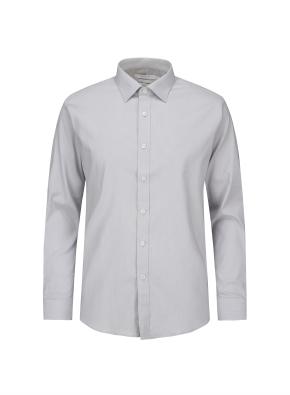 잔스트라이프 클래식 셔츠 (GR)