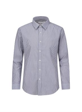 베이직 스트라이프 드레스 셔츠 (NV)