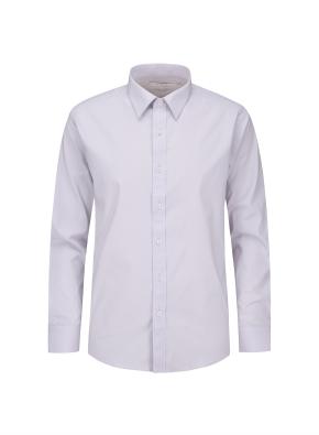 면혼방 레귤러 카라 드레스 셔츠 (VI)
