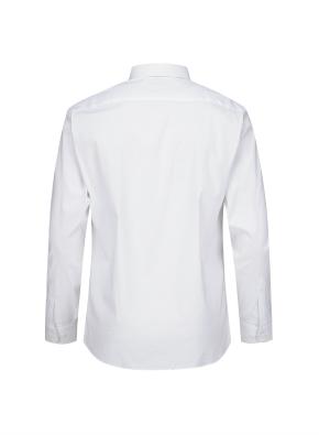 면혼방 레귤러 카라 드레스 셔츠 (WT)