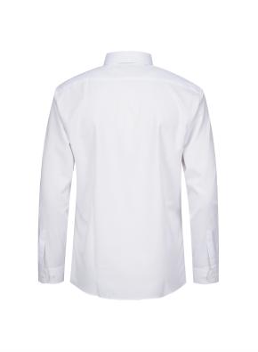 모던 스트레치 레귤러 카라 드레스 셔츠 (WT)