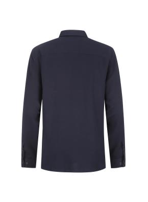 레이온 솔리드 캐주얼셔츠 (NV)