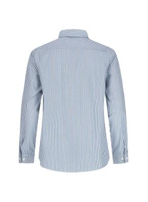 포플린 런던스트라이프 캐주얼셔츠 (GN)