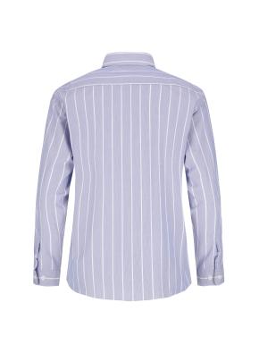 순면 멀티스트라이프 캐주얼셔츠 (BL)