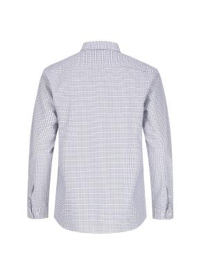 옥스포드 깅엄체크 버튼다운 캐주얼셔츠 (NV)