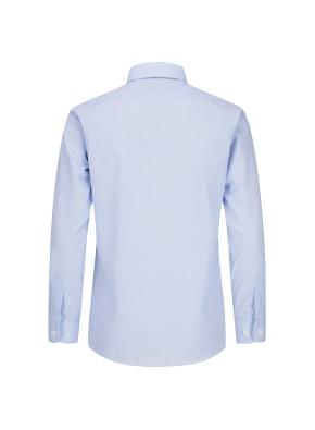면혼방 마이크로체크 드레스셔츠 (BL)
