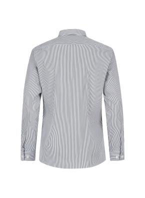 스트레치 면혼방 스트라이프 드레스셔츠
