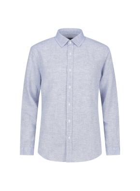 마혼방 솔리드 캐주얼셔츠 (NV)