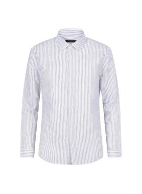 마혼방 스트라이프 캐주얼셔츠