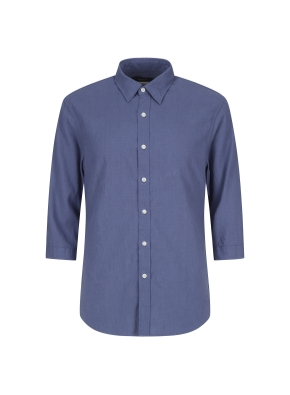 린넨혼방 스판 캐쥬얼 셔츠 (NV)