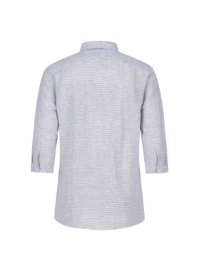 마혼방 가로 도비 캐주얼셔츠 (NV)