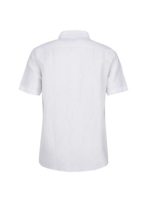 마혼방 필라필 솔리드 반팔 캐주얼셔츠 (WT)