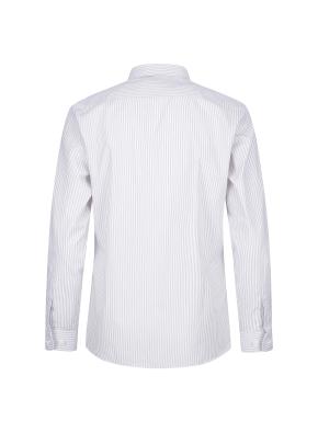 면혼방 스트라이프 드레스셔츠 (GR)