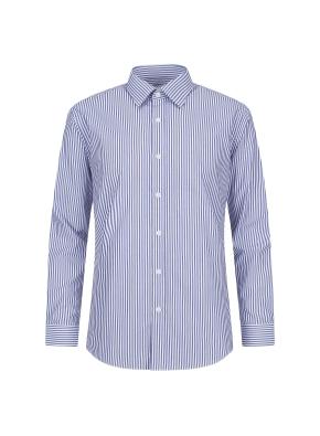 면혼방 스트라이프 드레스셔츠 (NV)