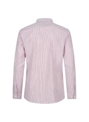 스트레치 면혼방 스트라이프 드레스셔츠 (RD)
