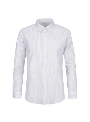 스트레치 면혼방 스트라이프 드레스셔츠 (KH)