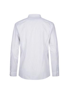 스트레치 면혼방 스트라이프 드레스셔츠 (NV)