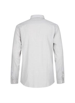 필라필 조직 베이직 캐쥬얼 셔츠 (GR)