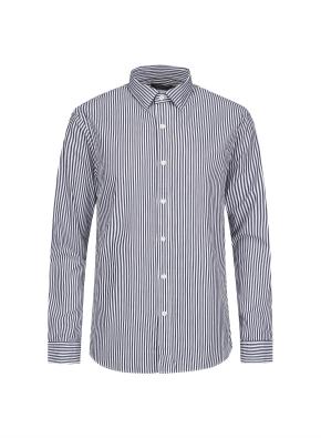 베이직 런던스트라이프 셔츠 (NV)