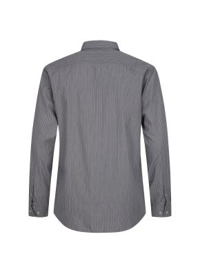 투톤 멀티 스트라이프 캐쥬얼 셔츠 (GR)