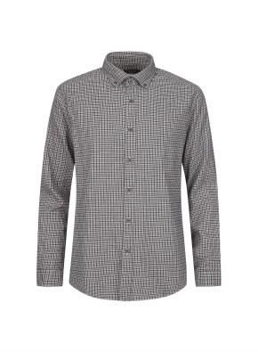 하운드투스 캐쥬얼 기모 셔츠 (BR)