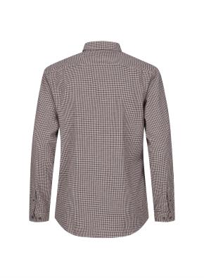 하운드투스 캐쥬얼 기모 셔츠 (RD)