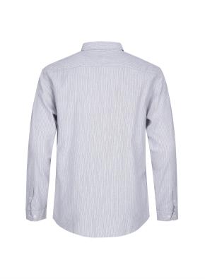 멀티 스트라이프 코튼 셔츠 (GR)