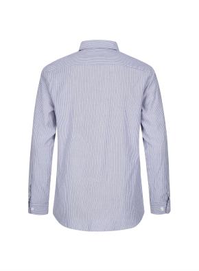 멀티 스트라이프 코튼 셔츠 (NV)