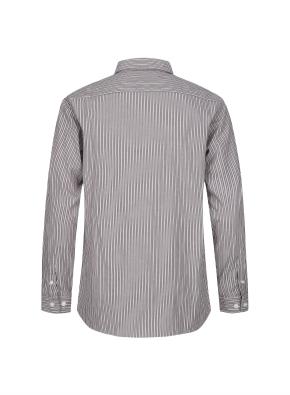 톤온톤 스트라이프 코튼 셔츠 (BR)