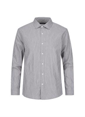 톤온톤 스트라이프 코튼 셔츠 (GR)