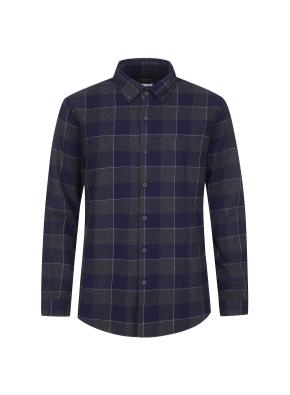 윈도우 페인 체크 웜터치 셔츠 (CNV)